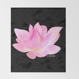Simply lotus  Throw Blanket
