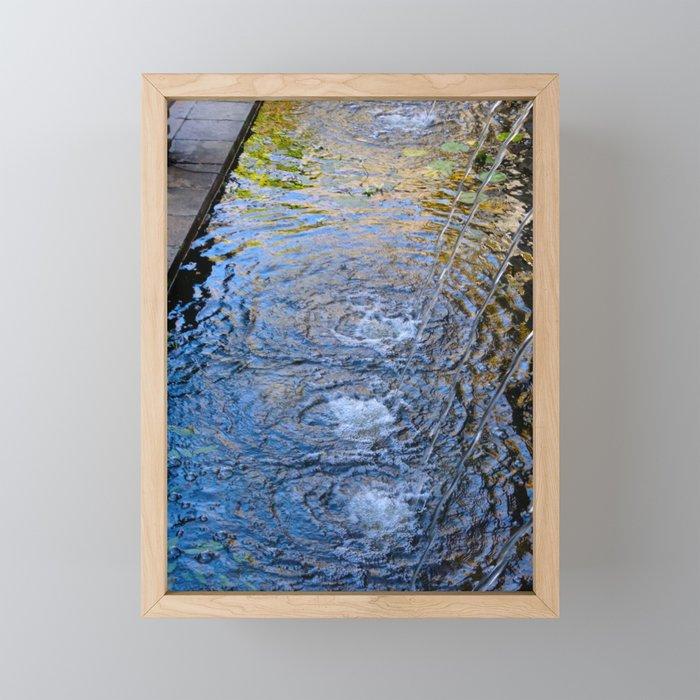 Living Water Framed Mini Art Print