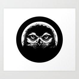 meh.ro logo Art Print