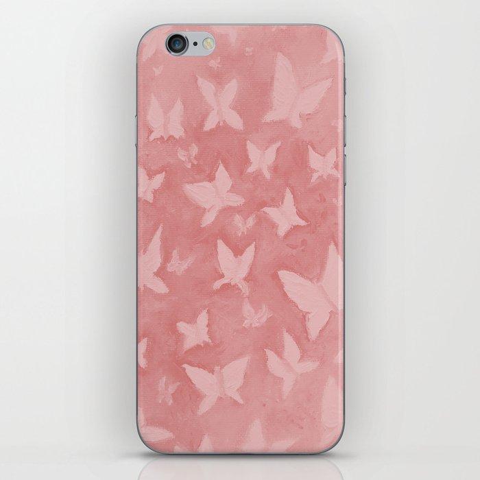Blushing Butterflies iPhone Skin