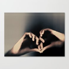 Another way to love Canvas Print