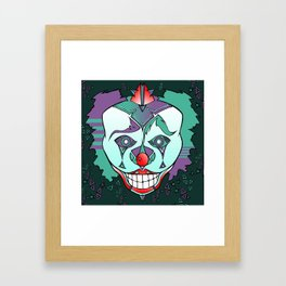 Clown Chakra Framed Art Print