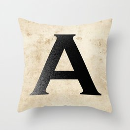 A is for... Throw Pillow