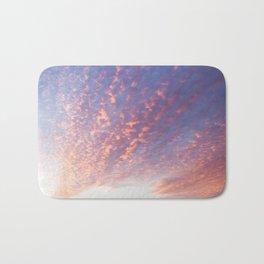 Sunset and Cotton Candy Bath Mat