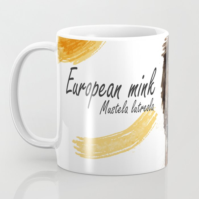 European Mink Coffee Mug
