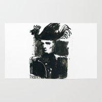 napoleon Area & Throw Rugs featuring napoleon by Chuchuligoff