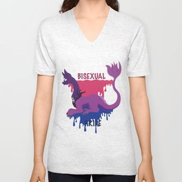 BISEXUAL Unisex V-Neck
