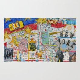 New York City Collage Rug