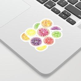 Citrus Wheels Sticker