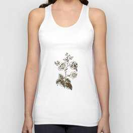 Golden flower Unisex Tank Top