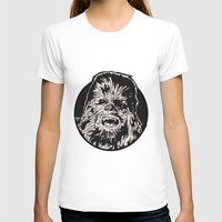 chewbacca T-shirts featuring Chewbacca by LaurenNoakes