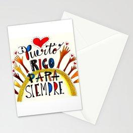 Puerto Rico Para Siempre Stationery Cards