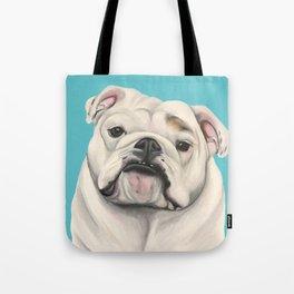 Sweet Little English Bulldog Tote Bag
