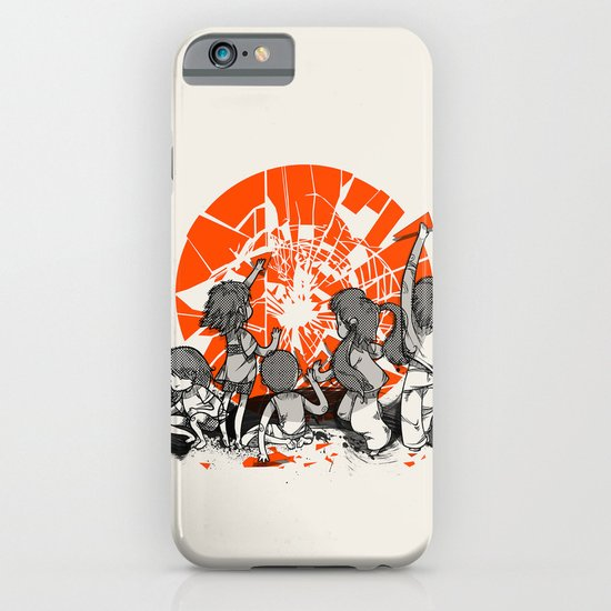 We'll help you rise again iPhone & iPod Case