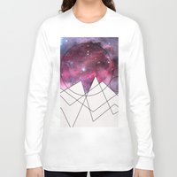 outer space Long Sleeve T-shirts featuring Outer Space by FlurinaJT