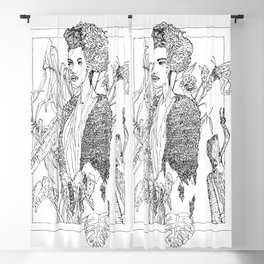 in frame Blackout Curtain