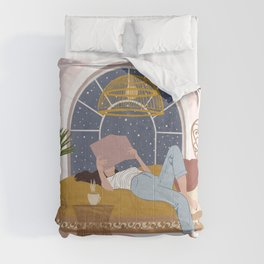 Cosy Winter Nights Comforters