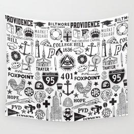 Providence Rhode Island Print Wall Tapestry