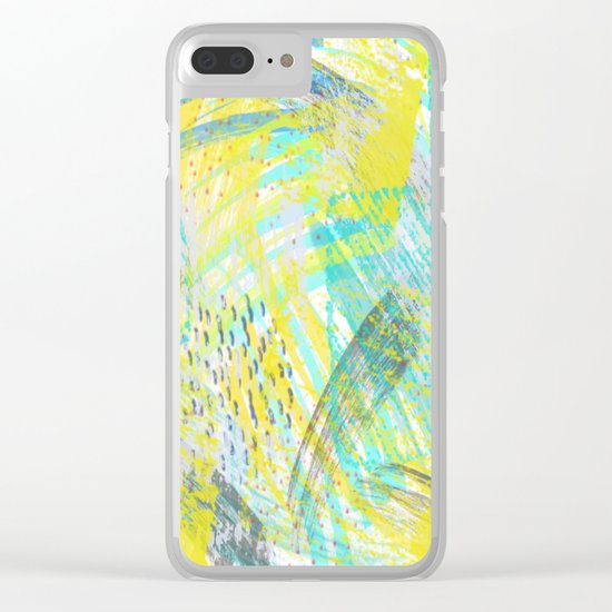 Abstract 181 Clear iPhone Case