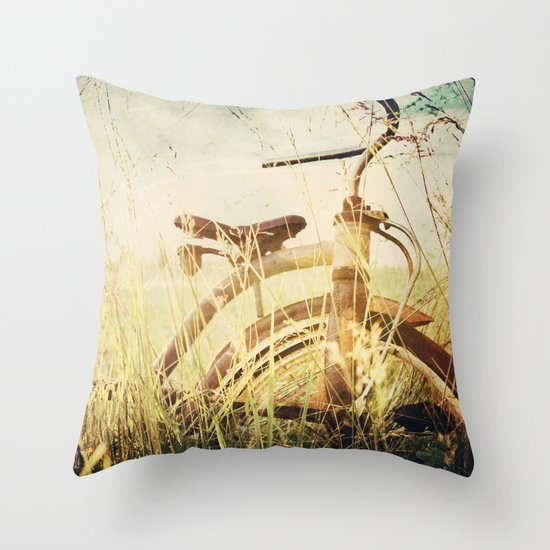 Rusty  Throw Pillow