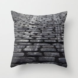 Winter Street Throw Pillow