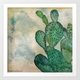 Cactus, My Cactus Art Print