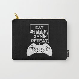 Eat Sleep Game Repeat Carry-All Pouch