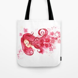 Kady Flora Fan Art (Illuminae-inspired painting) Tote Bag