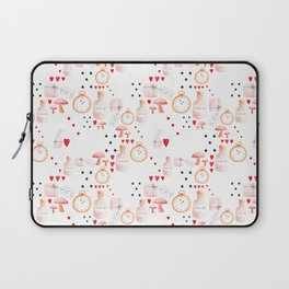 Alice in Wonderland - White Dream Laptop Sleeve