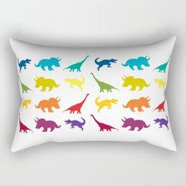 Dino Parade Rectangular Pillow