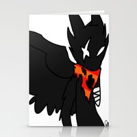 homestuck Stationery Cards featuring Bec Noir by Darkerin Drachen
