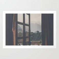 Vang Vieng Sunset Views Art Print