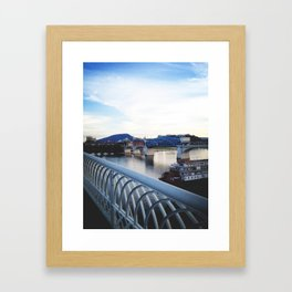 Rivers & Roads Framed Art Print