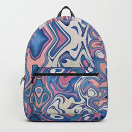 Colorful Chaotic Layers Backpack