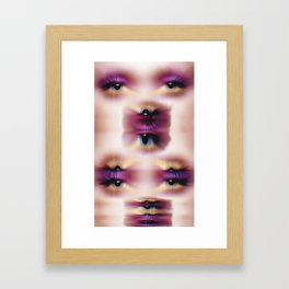 EYE AM Us Framed Art Print