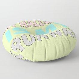 The Runway III Floor Pillow