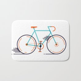speed bike Bath Mat