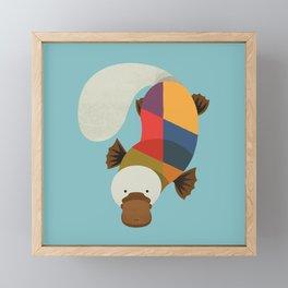 Platypus Framed Mini Art Print