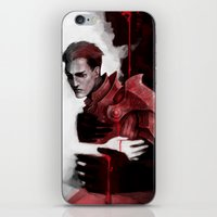 dragon age iPhone & iPod Skins featuring Dragon Age: Krem by Couple Of Kooks