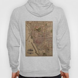 Vintage Map of Buffalo NY (1901) Hoody