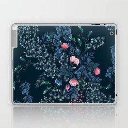 Floral - Blue & Pink Laptop & iPad Skin