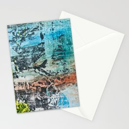 walls #4 Stationery Cards