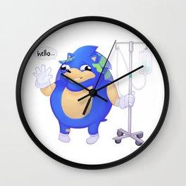 Earth-chan Sanic Wall Clock