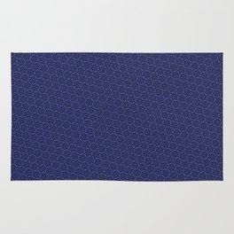 Cool patterns ~ THX 1138 Blue Rug
