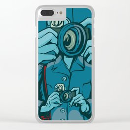 The Public Lens Clear iPhone Case