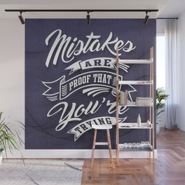 You're Trying - Inspirational Quotes. Wall Mural