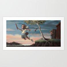 Adventure! Art Print