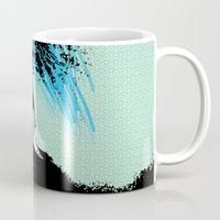 surfing Mugs featuring Surfing by CSNSArt