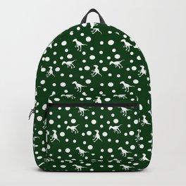 dinosaurs green Backpack