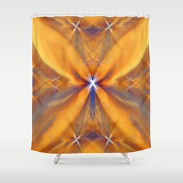 Starfire Ectoplasm Shower Curtain